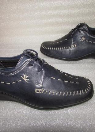 Мягкие туфли 100% натуральная кожа~pavers ~англия р 41