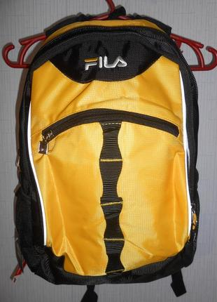 Классный повседневный школьный рюкзак fila