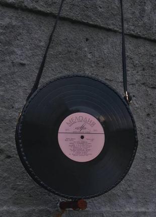 Сумка виниловая пластинка