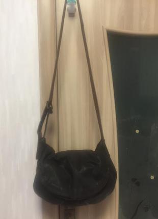 Кожаная сумка через плече, кроссбоди white stuff