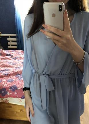 Блуза на запах/назапах рр с/м