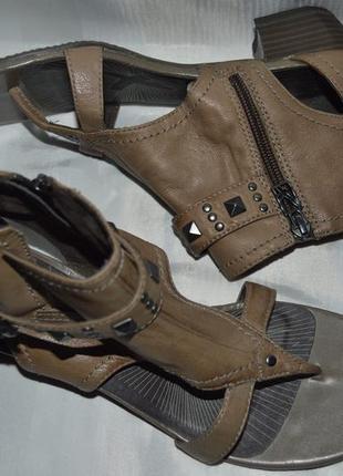 Босоножки кожа tamaris розпаровка размер 39 41, босоніжки шкіра