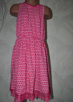 Красивое платье девочке miss e-vie на 9 лет рост 134