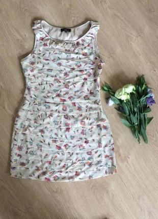 Платье летнее - атлас