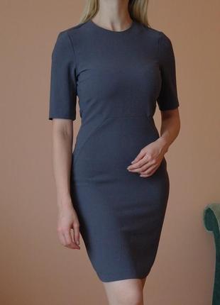 Платье футляр с коротким рукавом