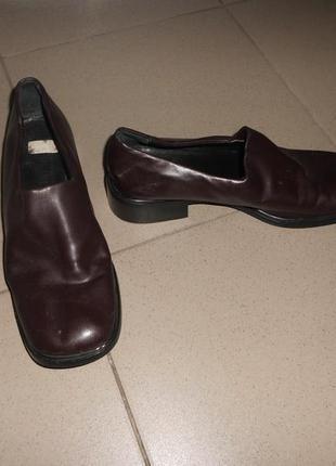 Кожаные туфли кожа натуральная