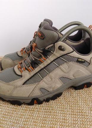 Трекинговые кроссовки meindl gore-tex,размер 38.5...1