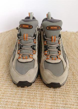 Трекинговые кроссовки meindl gore-tex,размер 38.5...2