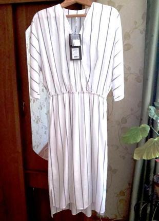 Платье-миди в полоску baon