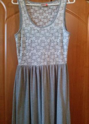 Длинное платье р. 38-40