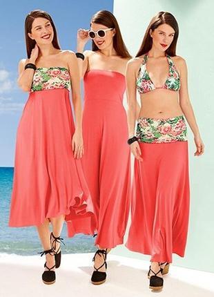 Эффектное пляжное платье 3 в 1 - tchibo, германия