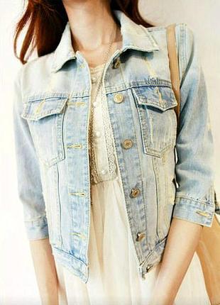 Моднявая джинсовка new look