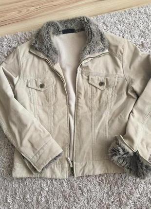 Вельветовая куртка- пиджак на замке м -л