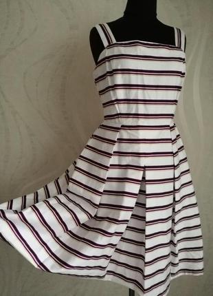 Обалденное платье сарафан с пышной юбкой