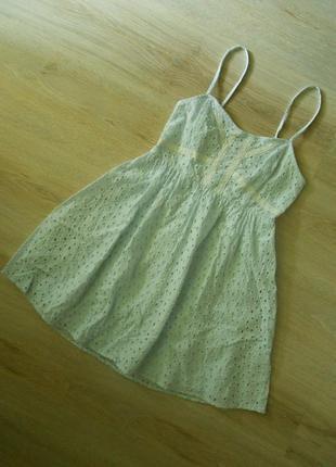 Батистовое платье h&m - xs