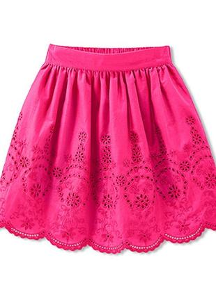 Настоящий хит для юной модницы - пышная юбкочка с декоративной вышивкой от tchibo