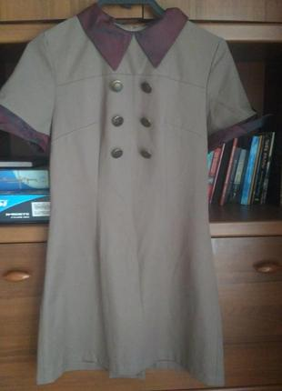 Платье винтаж, ретро, стилистика 80–х 🦋