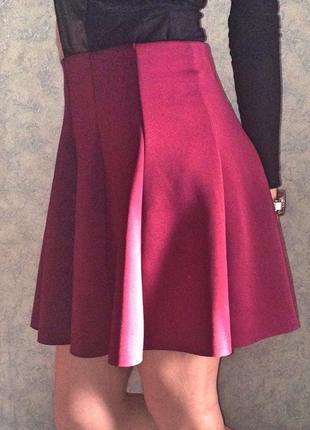 Бордовая юбка tally weijl