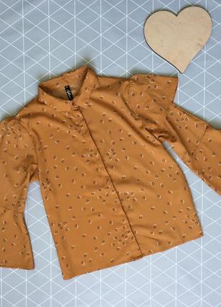 Необычная блуза