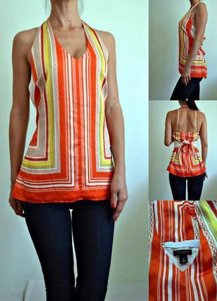 Топ, красивая блуза с открытой спиной, дорогой бренд! ann taylor