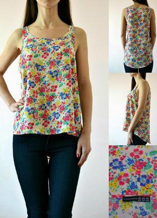 Легкая блуза с удлиненной спинкой 12(m-l)
