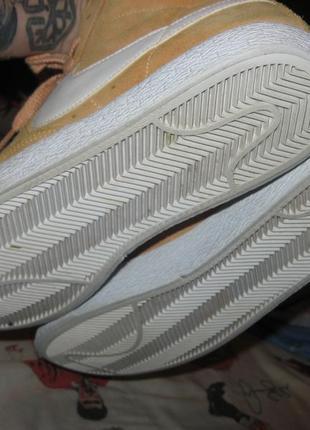 Кроссовки nike оригинал и замша 39 размер по стельке 25.5 см4