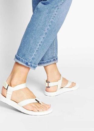 Быстросохнущие сандалии teva original sandal white