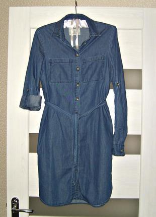 Тоненькое джинсовое платье denim co