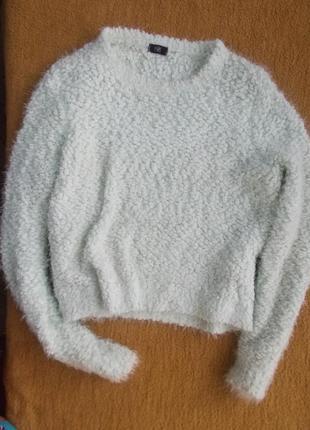 Свитер зефирка травка f&f свитер облако
