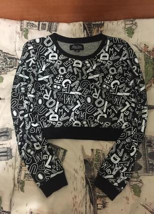 Короткий свитер chillin crop