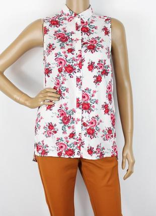 Новая блуза в цветы h&m