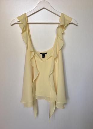 Красивейшая блуза от forever 21