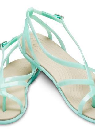 Сандалии crocs isabella gladiator sandals, w9
