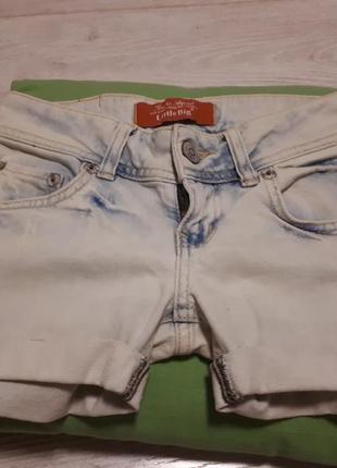 Джинсовые шорты ltb .-очень худенькой мамочке или девочке-подростку
