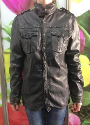Кожаные куртки унисекс
