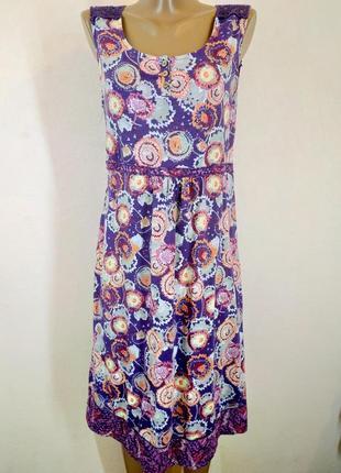 Платье сарафан из натуральной ткани