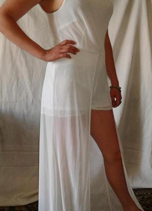 Пляжный комбинезон, ромпер 12 размер selected femme