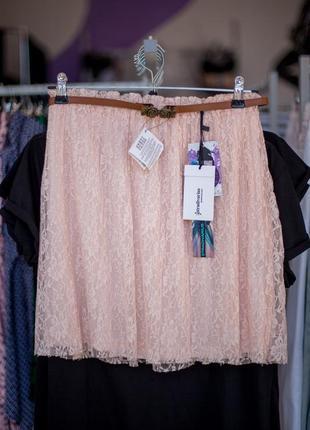 Очень нежная кружевная юбка от stradivarius