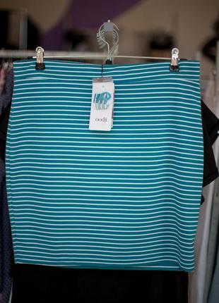 Стильная юбка в полоску от oodji