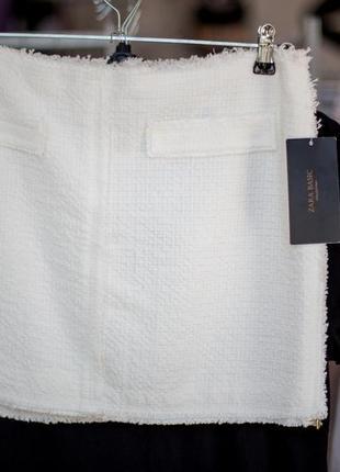 Обалденная котоновая юбка от zara