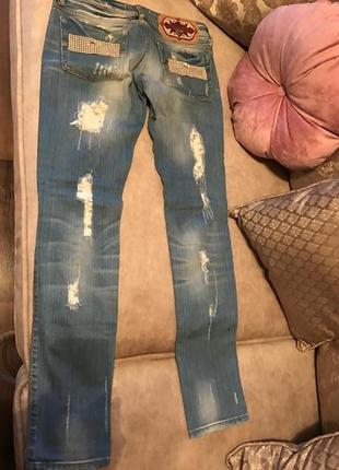 Стильні фірмові джинси оригінал  rossodisera італія