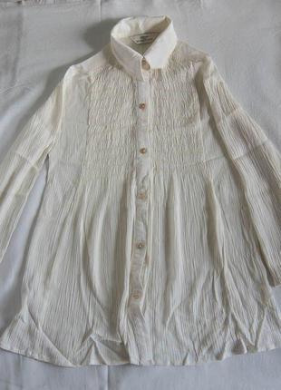 Школьная или повседневная блуза-туника