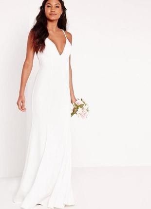 Свадебное платье missguided размер 10