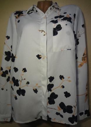Рубашка блуза размер м