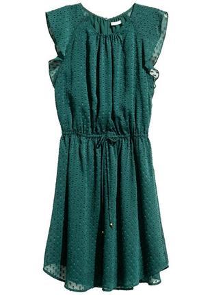 Платье с оборками h&m