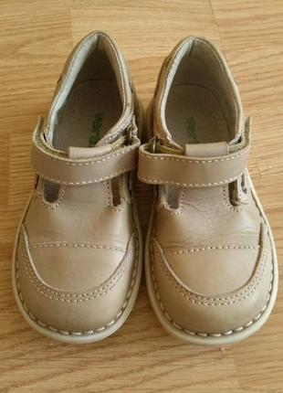 Кожаные туфли vertbaudet
