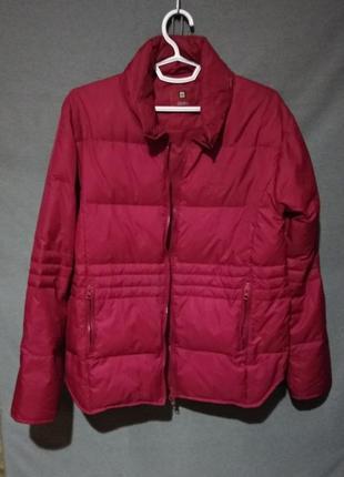 Куртка бордовая пух