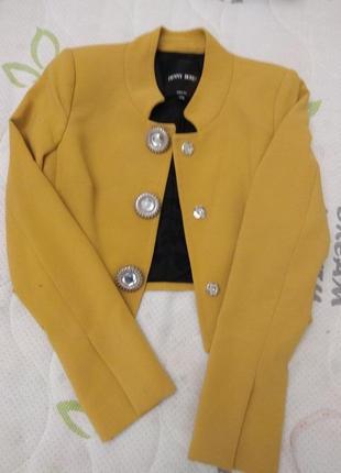 Жакет женский сильный пиджак высокое качество италия