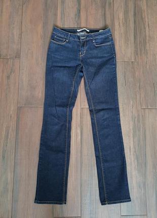 Синие джинсы zara