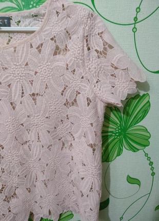 Актуальная кружевная блуза